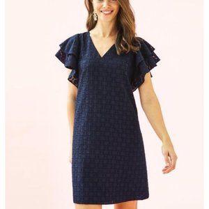 Kathie Dress True Navy Tanzanian Clip